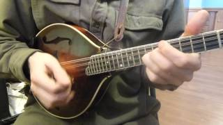 Cowboy Jig - Traditional Fiddle Tune on Mandolin