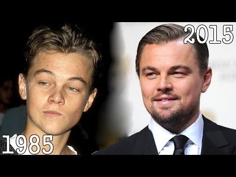 Leonardo DiCaprio (1985-2015) all movies list from 1985! How much has changed? Before and Now!