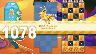 Candy Crush Soda Saga Level 1078 (No boosters)