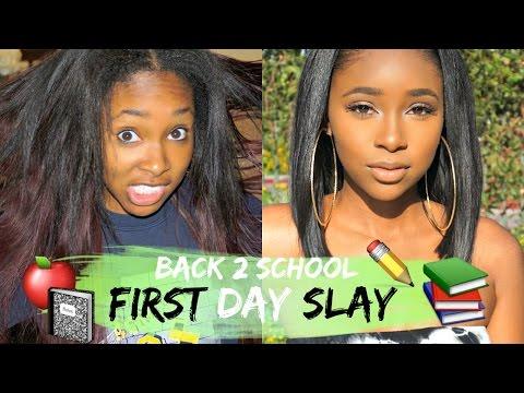 BACK 2 SCHOOL : 1st Day Slay Makeover | ft Dawnmarie