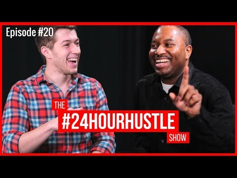 Ep. #20 | Aaron Watson, Hard Work, Event Planning, Strategy Behind Going Deep Summit | #24HourHustle