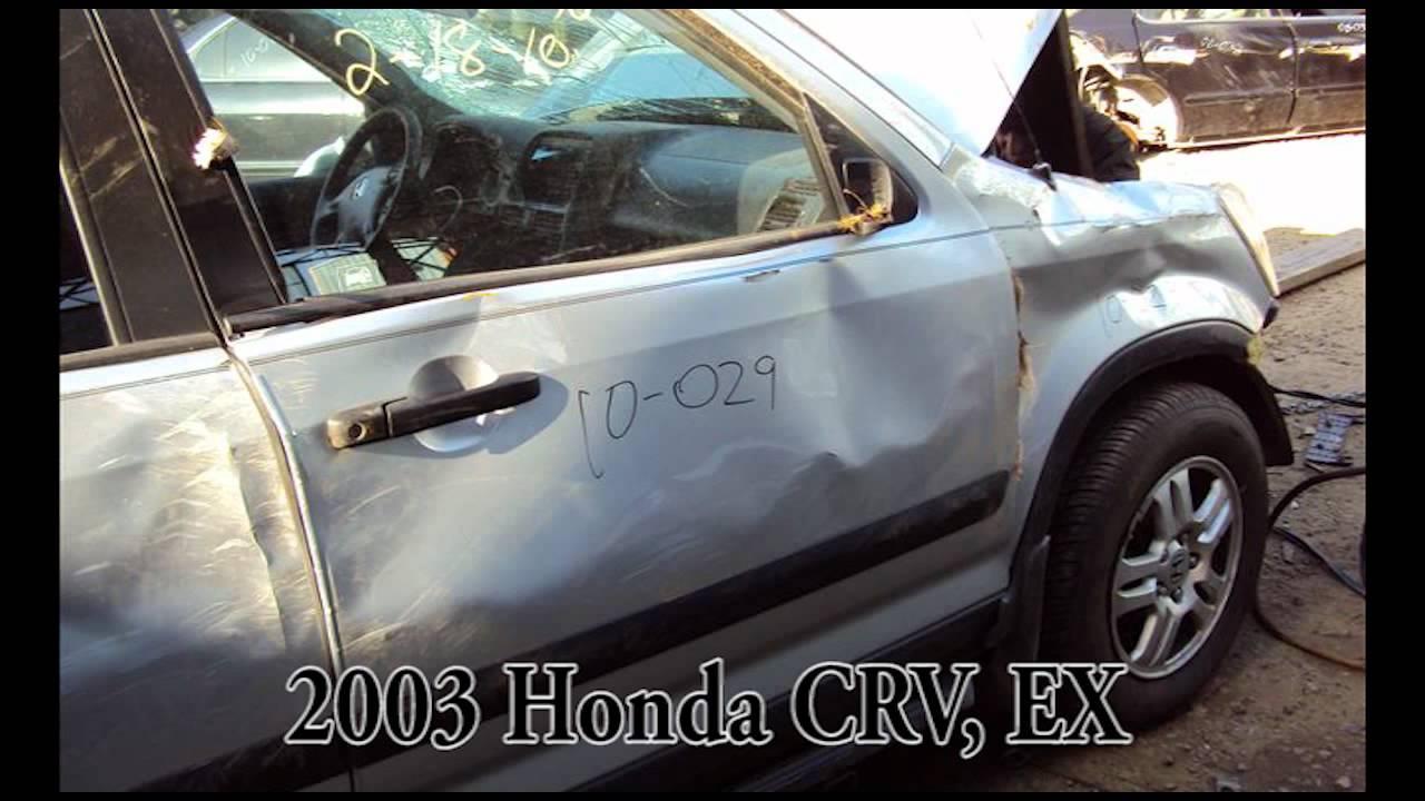 2003 Honda Crv Ex Parts Auto Wrecker Recycler Ahpartscom Acura Used Cr V Anhdonlinecom