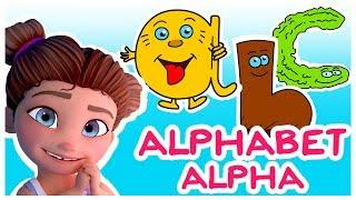 Apprendre l'Alphabet - Méthode Alpha -De A à Z