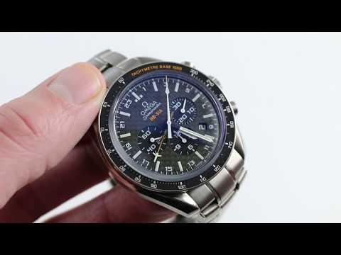 Omega Speedmaster HB-SIA GMT Chrono Luxury Watch Review