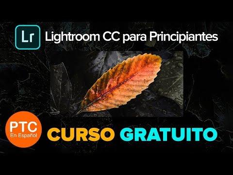 Descargar Video Lightroom CC para Principiantes – Curso Completo Gratis – Tutoriales de Lightroom CC 2018 en Español