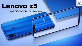 Lenovo Z5 (2018) -Official Look, Introduction, Specification, Price,Release Date [Latest Update]
