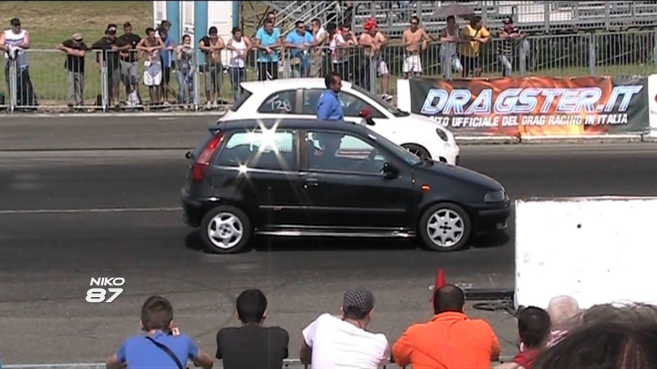 punto gt vs 500 abarth [niko87] - youtube