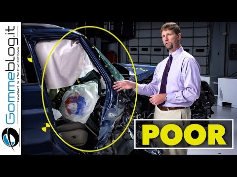 Crash Test SUV 2018 - IIHS Small Overlap Impact - POOR and GOOD Rating [REVIEW]