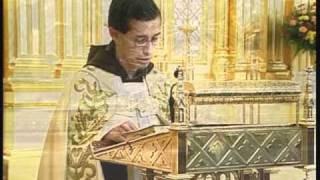 Benediction and Devotions - 2 Corinthians 3 v18 - Fr. Miguel Marie - 10-03-2010