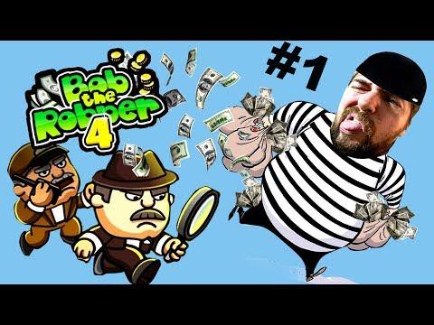 Игра Воришка Боб онлайн бесплатно играть на Клёвых мини-играх
