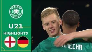 England - Deutschland 1:2 | U21 Testspiel | Highlights