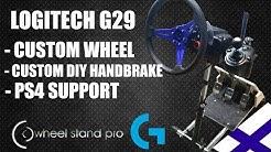 Logitech G29 CUSTOM WHEEL | CUSTOM HANDBRAKE