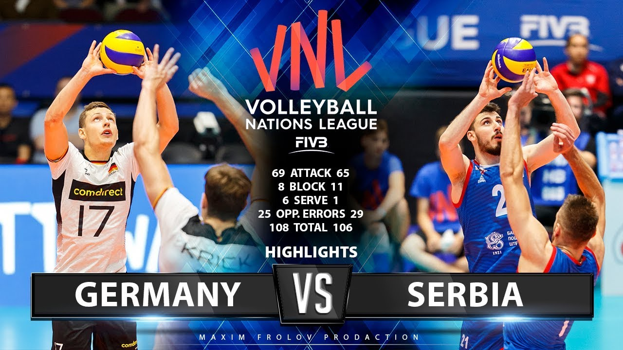 Germany Vs Serbia