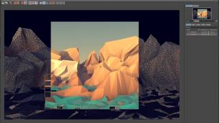 Low Poly Modeling ( Видео урок) Tutorial cinema 4D R14