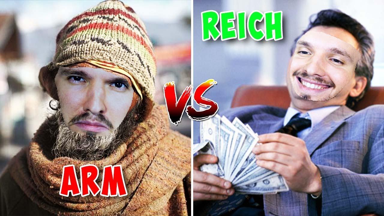 ARM VS. REICH: WER GEWINNT ?!
