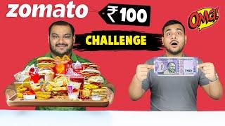 100 Rupees Zomato Food Challenge   Zomato Challenge   Food Eating Competition   Viwa Food World