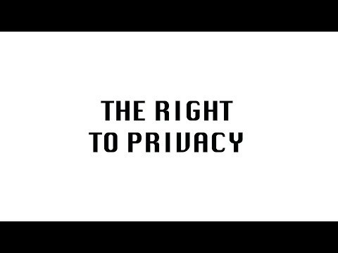 PRIVACY AWARENESS : HUMAN RIGHTS PROJECT : WORLD LIT