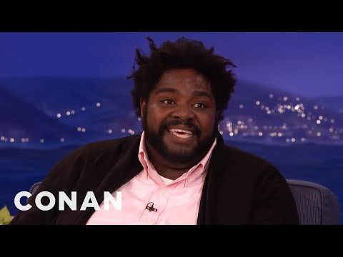 Ron Funches Was A Junk Food Scientist  - CONAN on TBS