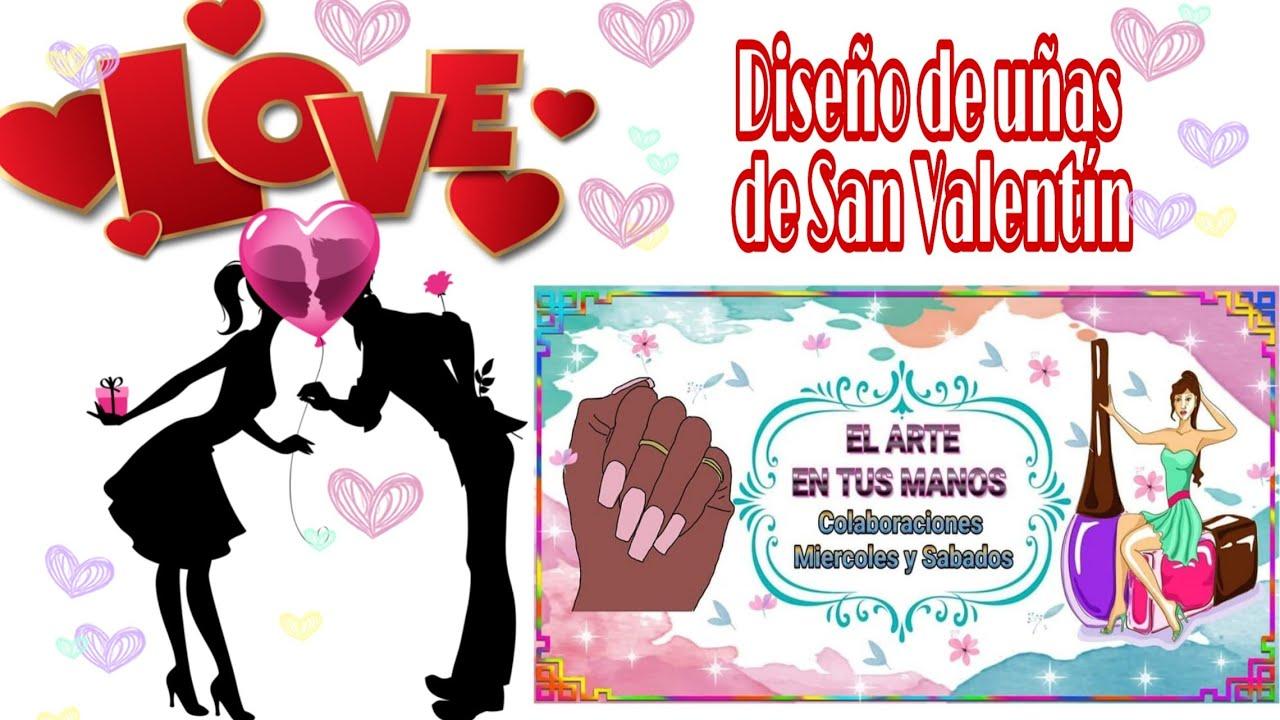 Diseños De Uñas De San Valentín Colaborativo