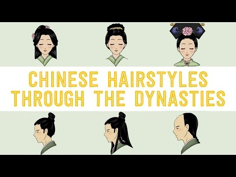 ancient chinese hair styles