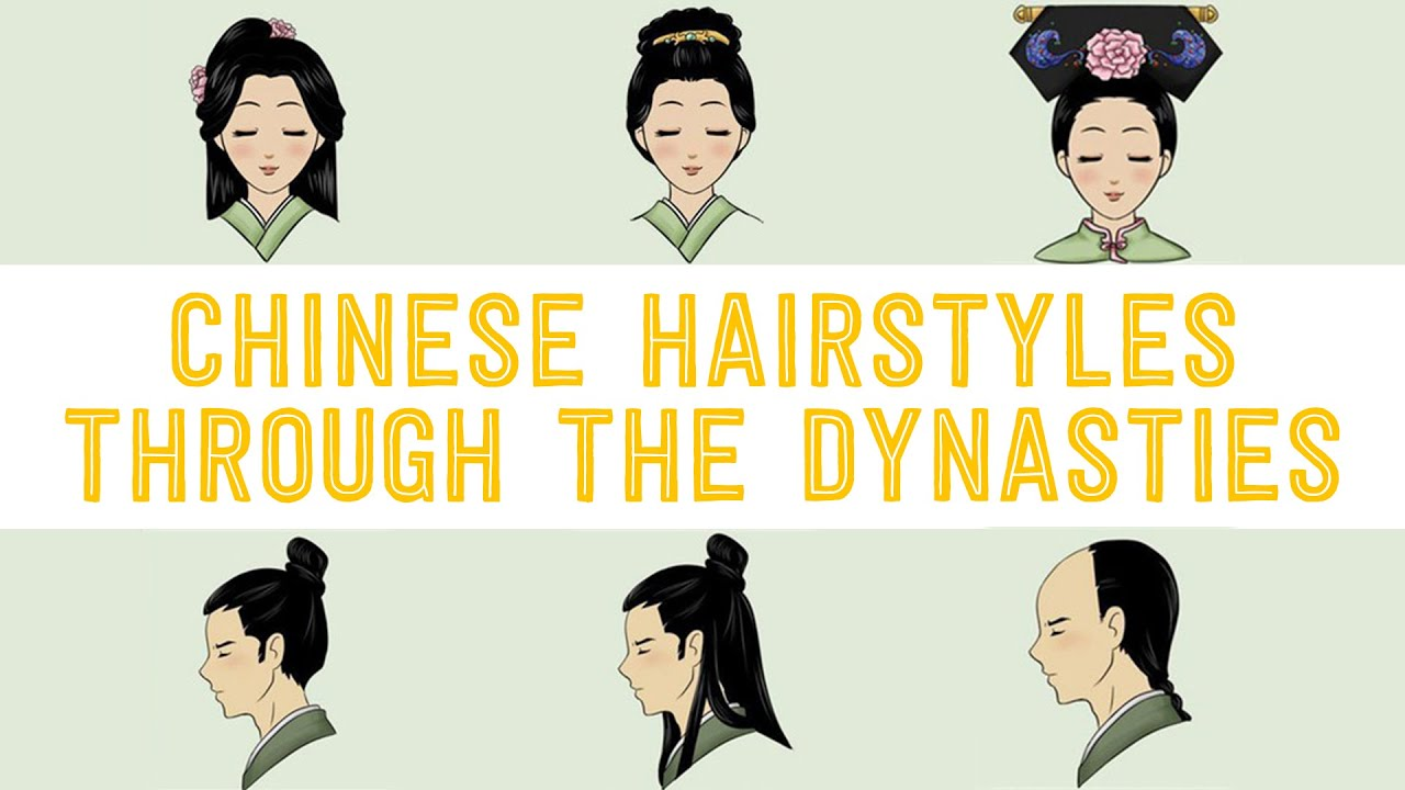 chinese hairstyles through the dynasties - youtube