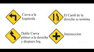 Señales de tránsito - Preguntas para el examen de conducir