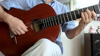 北の旅人(ギターソロ) Kita no tabibito (a traveler in the north)