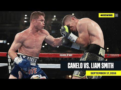 FULL FIGHT   Canelo vs. Liam Smith (DAZN REWIND)
