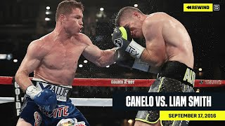 FULL FIGHT | Canelo vs. Liam Smith (DAZN REWIND)