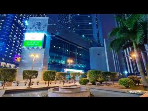 A beautiful hyperlapse of Guangzhou city in China.