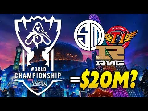 How much money could teams like TSM or SKT make from Worlds from Riot?