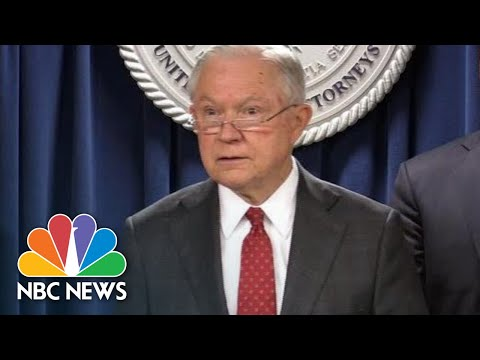 Jeff Sessions Announces Arrest Of Undocumented Immigrants Involved In Identity Theft | NBC News