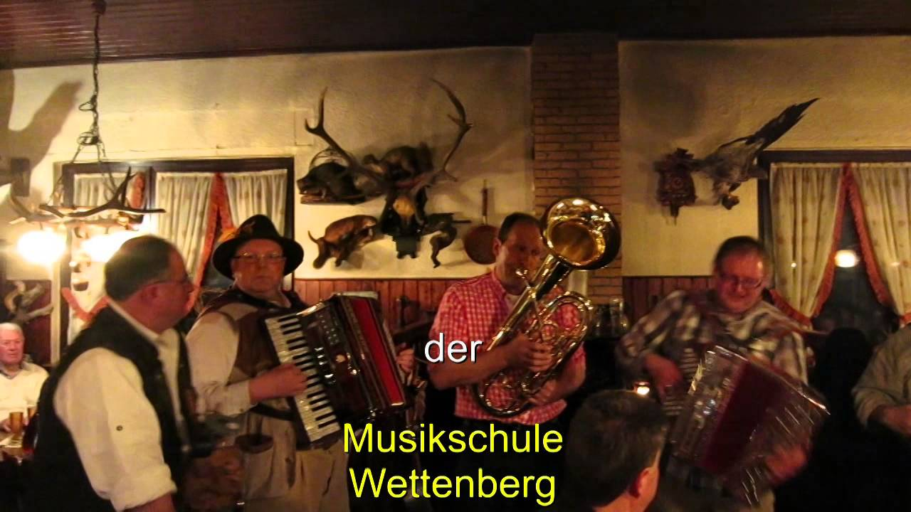Volksmusik in Hessen - Waldschänke in Staufenberg bei Gießen - YouTube