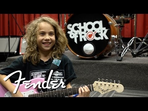 Nine-Year-Old Guitarist Inspired by Jimi Hendrix | Fender