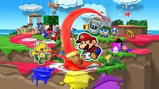 Chaosnew game review – Paper Mario Color Splash (Wii U) review
