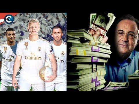💸 Le Real Madrid va recevoir 261 millions pour boucler Mbappé ou Haaland. Explications