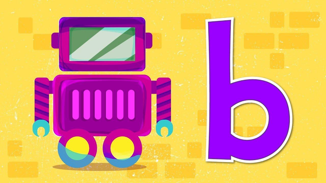 21 Huruf Abjad Belajar Huruf Alfabet & Belajar Menulis Huruf B  Pendidikan  Anak Usia Dini   Yufid Kids