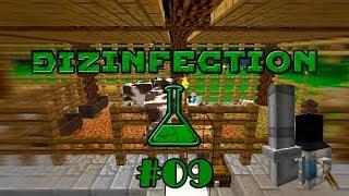 DiZInfection #09 - АВТОКОРМУШКА И АВТОПОИЛКА ДЛЯ ЖИВОТНЫХ - майнкрафт сборка 1.12.2 с модами