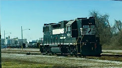 Railserve Switching Proctor & Gamble In St. Bernard Ohio With GP38-2