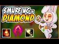 BEST TEEMO NA | DARK HARVEST TEEMO SMURFING IN DIAMOND! | TEEMO VS JAX FULL GAMEPLAY!!