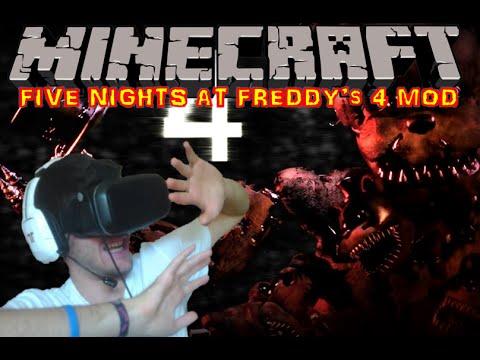 Five nights at freddy s 4 mod minecraft 1 8 fr hd youtube