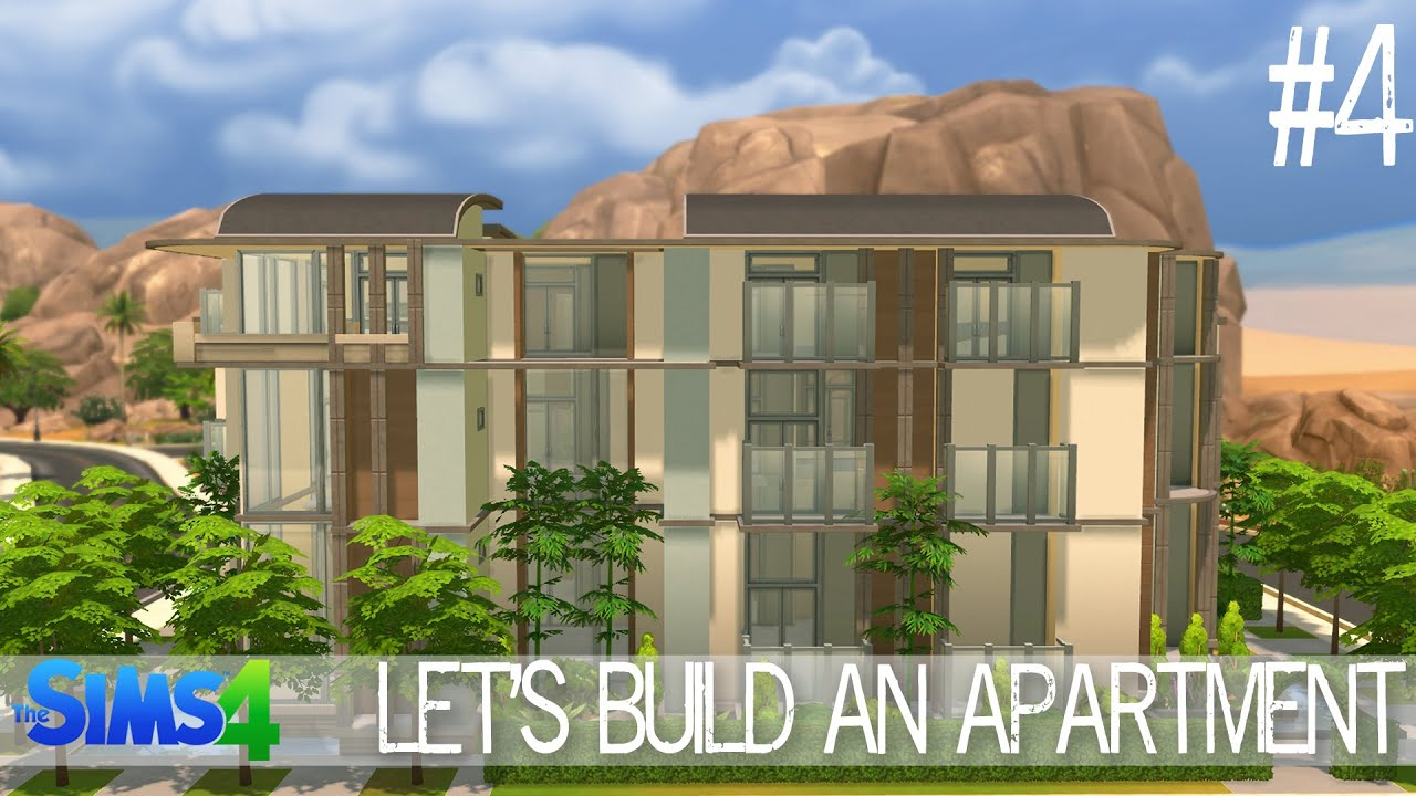 Sims  How To Build Apartment Complex