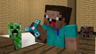 Monster School Noob life Pig operation Brave Weapons Minecraft Animation