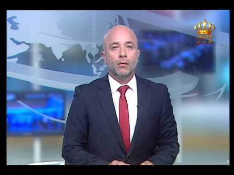 English News at Ten on Jordan Television 11-05-2017
