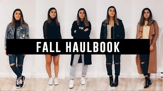 Fall Haulbook ft. 10 Fall Trends | Romwe, Shein, Missguided, Thrifted