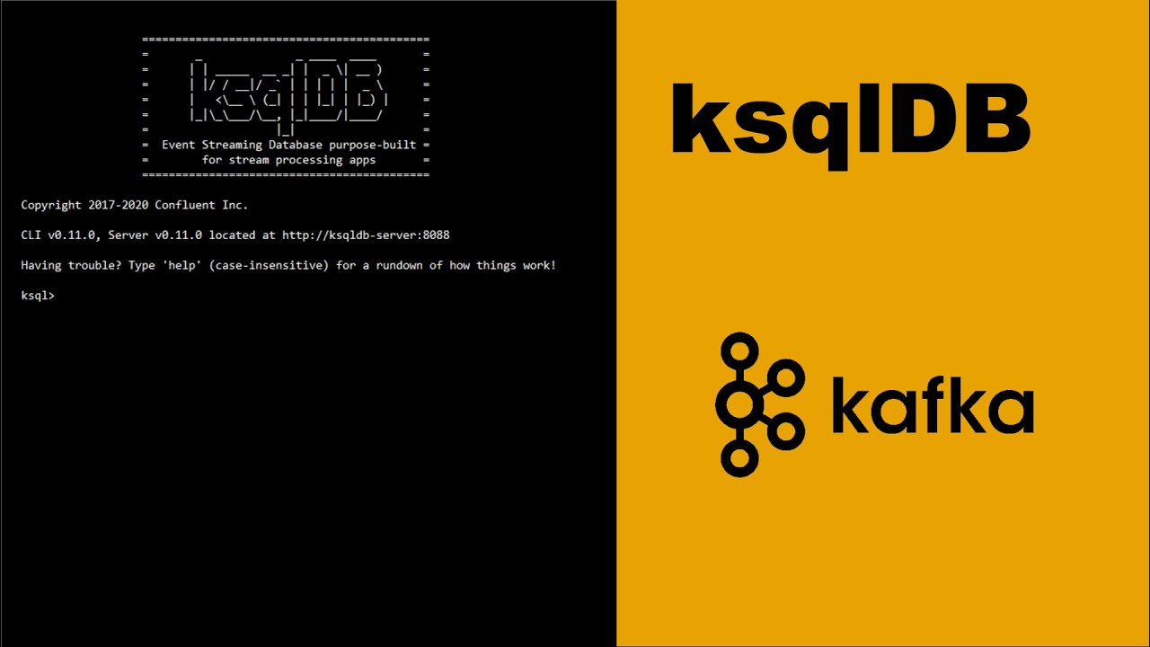 ksqlDB Tutorial - Quickstart
