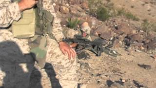 Marine Corps Machine Gun Section shoot 29 Palms