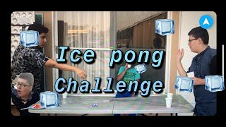 Ice Pong challenge!!! (Gone Wrong)!!!