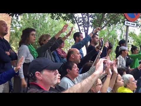 1 OCTUBRE 2017 Ambient a Nou Barris (Àgora i Calderón)