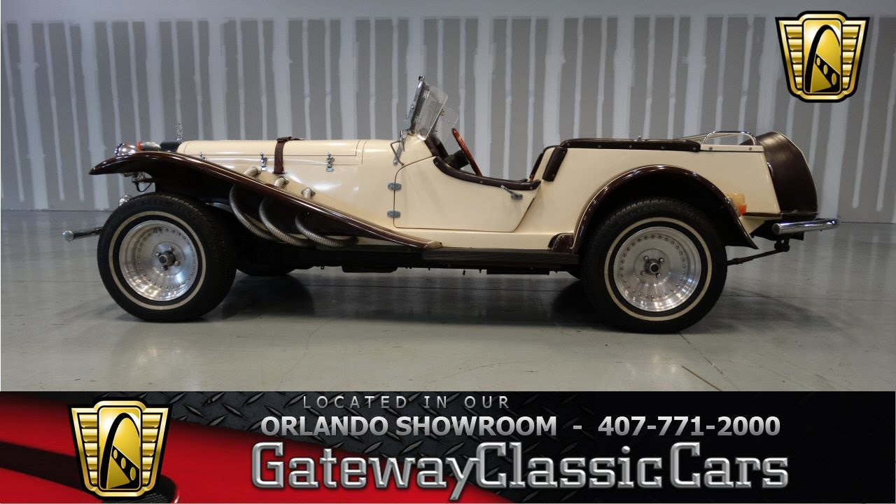 1929 Mercedes-Benz SSK Replica Gateway Classic Cars Orlando - YouTube
